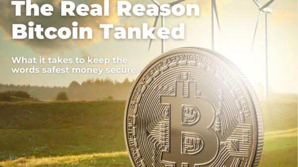 The Real Reason Bitcoin Tanked